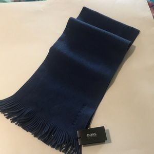 Hugo Boss scarf. New with tags